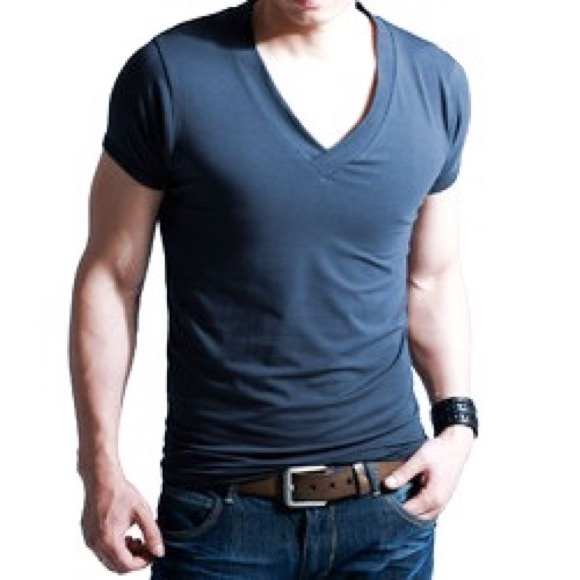 Theory Other - Theory Classic V-Neck Cotton/Spandex Fitted Tshirt